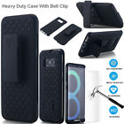For Samsung Galaxy S8 Plus/S8 Slim Shockproof Kickstand Case W/Belt Clip Holster