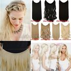 Long Real Straight Curly Secret Headband One Piece Wire in on Hair Extensions UK