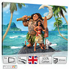 LARGE MOANA DISNEY CHILDREN BABY KIDS BEDROOM - CANVAS WALL ART PRINTS PICTURES