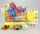 Sweet Hamper Gift Box Retro Mix Sweets Choose Size Birthday Thanks Fathers Day