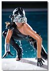 Lady Gaga Art Wall Silk Cloth Poster Print (510)