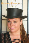 Steampunk Hat Victorian Leather Standard SHORT Top Hat