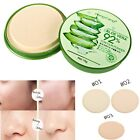 Beauty Foundation Makeup Aloe Oil Control Moisture Smooth Face Powder Concealer