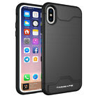 Kickstand Card Pocket Hybrid Armor Silicone Cover Case For iPhone 6 6S 7 Plus