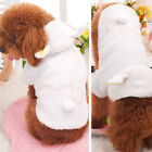 Cute Puppy Cat small Dogs clothes Hoodie sheep coat jacket costume Pet supplies