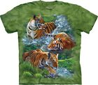 The Mountain Unisex Adult Water Tiger Collage Animal T Shirt