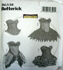 Butterick Sewing Pattern 6338 Ladies 14-22 Corset Ruffle Skirt History Costume