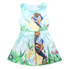 New Beauty and the Beast Kids Girls Princess Dress Skirt Costumes Party Outfit