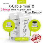 Best WSKEN  MINI 2  Magnetic  2m  USB Fast  Charging Cable for Samsung/Apple/LG