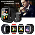 GT08 Bluetooth Smart Watch Phone Mate Support SIM Card For Android Samsung LG