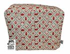 CozyCoverUp® Cotton Food Mixer & Toaster Dust Cover, & Tea Cosy Farm 2 Table