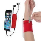 Sport Sweatband Wristband Forearm Band for Keys and Coins for iPhone 7 (Plus)