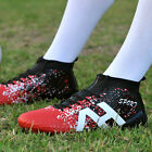 Outdoor Men Adults Soccer Cleats FG Soccer Shoes High Ankle Football Boots Shoes