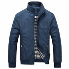 New Hot Mens Slim collar jackets fashion jacket Tops Casual coat outwear