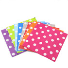 New 10pcs Dot Paper Wedding Luncheon Napkins Serviettes Tableware Party Supplies