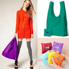 Travel Reusable Storage Eco Friendly Shopping Bag Grocery Bags Tote 3 Colors US