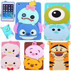 Cute Kids 3d Cartoon Animal Soft Silicone Case Cover For Ipad 2 3 4/mini 4/air 2