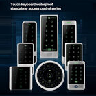 Touch Keypad Metal Case EM4100 125Khz rfid reader Ext Standalone Access Control