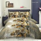 TIGER ANIMAL PRINT 3D Duvet Cover Bedding Set with Fitted sheet & Pillow case