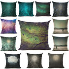 Home Decor Luminous LED Glowing Pillow Cushion Cover Moon Tree twigs Mysterious