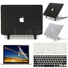 "3in1 Black Clear Matte Translucent Case Skin For MacBook Air 13""/13.3-inch A1466"