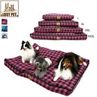 Ultra-Soft Pet Dog Bed Cushion House with Removable Washable Cover Waterproof