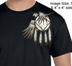 Narcotics Anonymous - Eagle & Shield With NA Symbols - White Graphic T-shirt