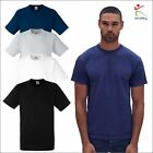 Fruit of the Loom 5 PACK Mens Heavy Cotton Tee Classic Fit Round Collar T-Shirt