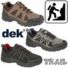 DEK Ghillie Up Trail Shoes Mens Vegan Leather Trek Walking Outdoors Trainers