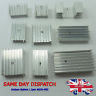Different Aluminum Silver Heat Sink Radiator Cooler DDR RAM For IC Chip Cooling