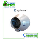 Systemair RVK 4 5 6 8 10 12 Inch In-Line Ducting Extraction Fan Hydroponics