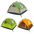 Waterproof coloful Automatic Outdoor Sports Campin 4-5 people Pop Up Tent Hiking
