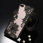 New Sexy Retro Floral Lace Flower Hard PC + TPU Phone Case For Ipnone 7/7plus