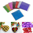 "100pcs Square Wrappers Foil Paper 3"" X 3"" For Candy Sweets Chocolate lolly New"