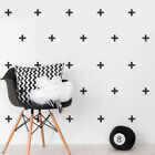 Set Of 80 Cross Plus Sign Individual Wall Stickers Childrens Bedroom Decal