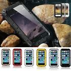 FAST SHIPPING HEAVY DUTY GORILLA GLASS FULL METAL CASE FOR APPLE IPHONE 5 5S SE