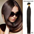 """AAA+ 18""""1g/s 100S Pre Bonded Keratin Glue Nail/U Tip Remy Human Hair Extensions"""