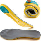Sport Insert Shoe Gel Insole Orthotic Support Heel Cushion Running Increase 1 cm