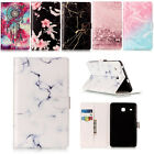 New Marble Pattern PU Leather Magnetic Smart Cover Case for iPad Samsung Tablet