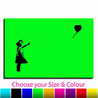Balloon Girl Banksy Single Canvas Wall Art Picture Print 2 TAB