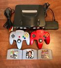 Nintendo 64 N64 Console w/ Authentic Controller - Mario Kart, 007, Super Smash