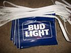 Bud Light streamer flags vinyl double sided signs 60ft blue beer bar man cave