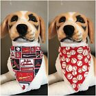 MLB Reversible Over The Collar Bandana Scarf St Louis Cardinals Dog Cat 2 in 1