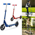 Adult/Teen Folding Kick Scooter 2 Wheels Aluminum Alloy Frame Push Scooter UU