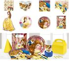 NEW Beauty and The Beast Birthday Party Decorations Party Tableware Supplies