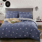 Cotton Bed Linen Soft Bed Clothes Solid Comforter Duvet Cover Bedding Set King