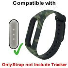 Soft Silicone Strap Belt Case For Xiaomi MI Band 1 Army Camouflage