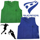 Rucanor Football Mesh Pro Training Bibs Rugby Hockey Sports Junior Kids Adult