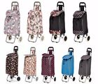 Folding Wheeled Shopping Trolley Festival Bag New Strong Waterproof Lightweight