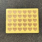 Blank Love Heart Stickers | Kraft | BL302